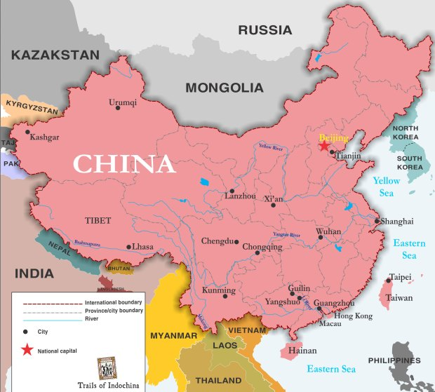 Gap China Map.Gap Stirs Anger In China For Printing Incomplete Map On Its T Shirts