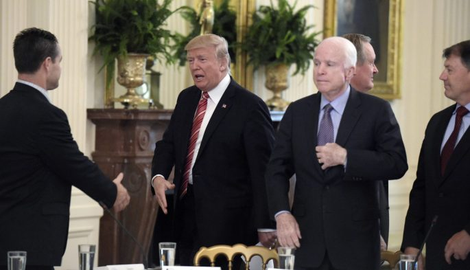 Trump and McCain