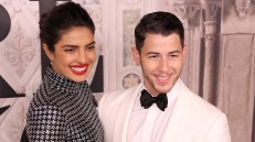 NEW YORK, NY - SEPTEMBER 07: Priyanka Chopra and Nick Jonas attend the Ralph Lauren fashion show during New York Fashion Week at Bethesda Terrace on September 7, 2018 in New York City. (Photo by Rob Kim/Getty Images)