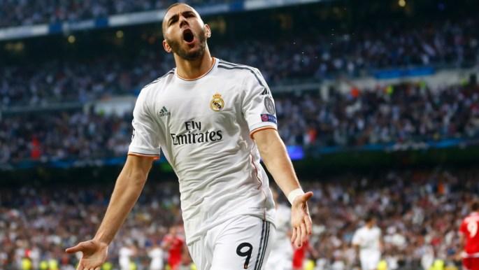 Karim Benzema goal