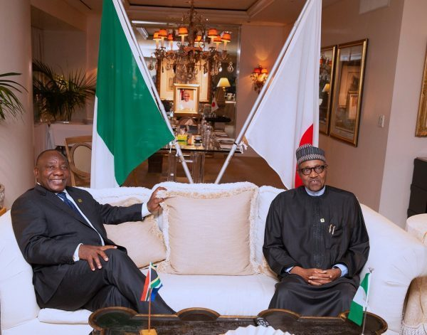 Nigeria and South Africa