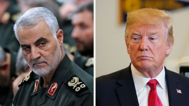 Trump and Souleimani