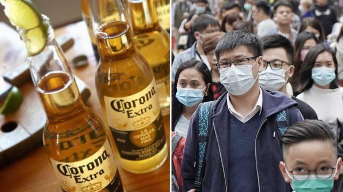 Corona virus and corona beer