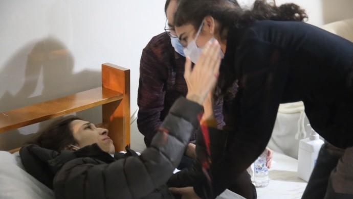 Nuriye Gülmen'in evinden: Kavuştuğumuz için mutluyuz