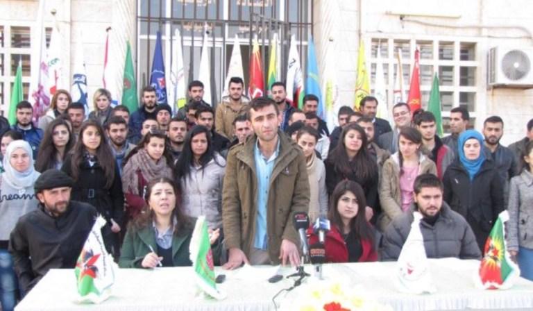 QAMIŞLO – Kuzey Suriye gençlik hareketleri ve örgütleri, Kuzey Suriye Gençlik Konseyi Kurucu Meclisi'ni ilan etti.