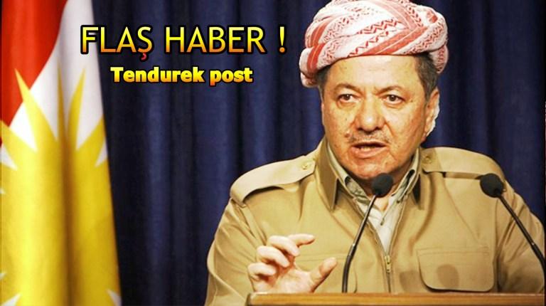Kürdistan Bölgesel Yönetimi Başkanı Mesut Barzani görevini bırakma kararı aldı.