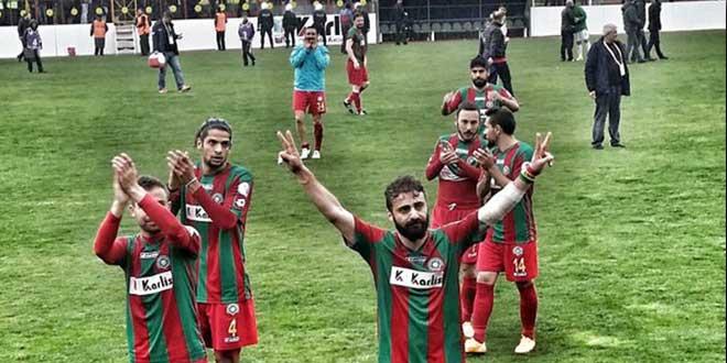 Amedspor 2. Lig'de 3. sıraya yerleşti