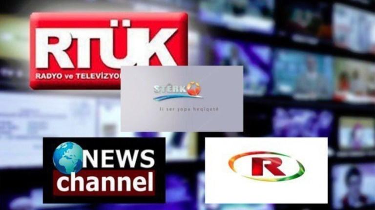 Eutelsat üç Kürt televizyonunu daha kapatmak istiyor