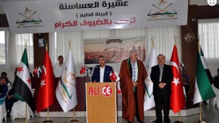 AKP destekli Suriyeli Sünni aşiretler Reyhanlı'da toplandı