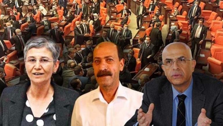 CHP ve HDP'den üç ismin vekilliği düşürüldü: Enis Berberoğlu, Leyla Güven, Musa Farisoğulları