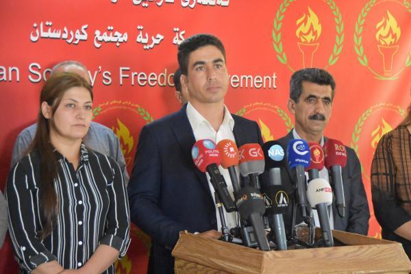 Tevgera Azadî'den Kürt siyasi güçlerine çağrı: Harekete geçin