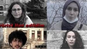 Terörist ilan edilen Boğaziçili öğrencilerden videolu yanıt