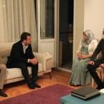 İBB Başkanı İmamoğlu, Hüda Kaya'ya taziye ziyaretinde bulundu