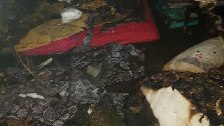 Muş'un Bulanık ilçesine bağlı Mêxik köyünde bir evde çıkan yangın sonucu 1 Çocuk yaşamını yitirdi