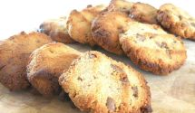 Chocolate chip cookie happy sweets