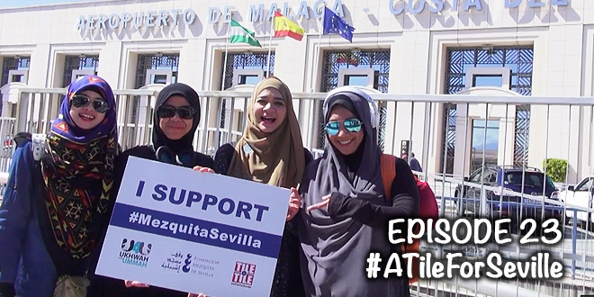 #ATileForSeville – EPISOD 23 of 24 – Malaga Airport, farewell, selamat tinggal