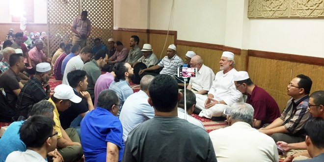 Visit of Shaykh Dr. Jahid Sideq with a group of 80 Malays