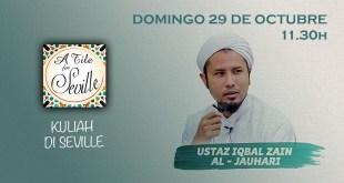 Charla de Ustaz Iqbal Zain en Sevilla