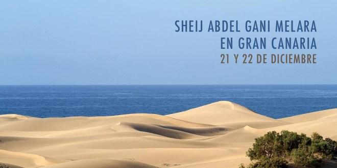 Sheij Abdel Gani Melara en Gran Canaria