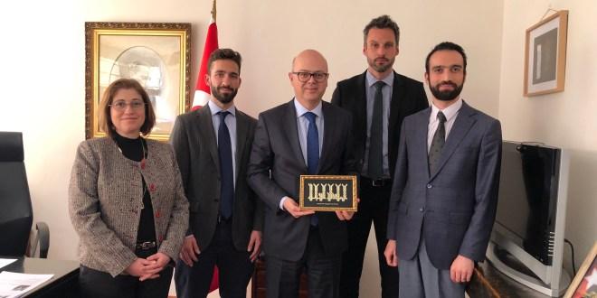 Reunión con el Excelentísimo Señor Cihad Erginay, embajador de la República de Turquía en España