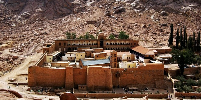 The Covenant of Prophet Muhammad with the monks of Mt. Sinai