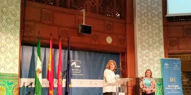 Acto de presentación de C.O.A.M.U.R (Coordinadora Andaluza de Organizaciones de Mujeres Rurales)