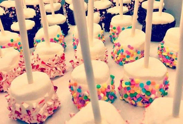 Dipped Marshmallow Smores