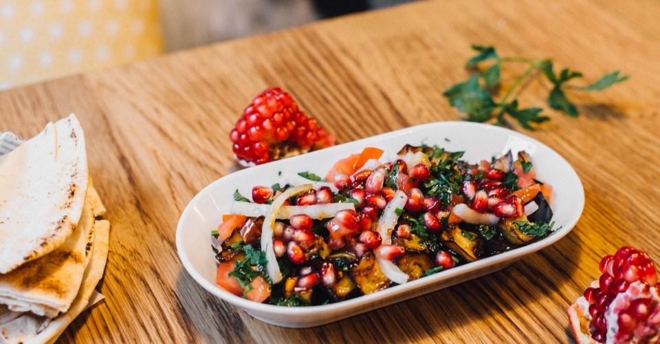 restaurant végétarien libanais à Rennes
