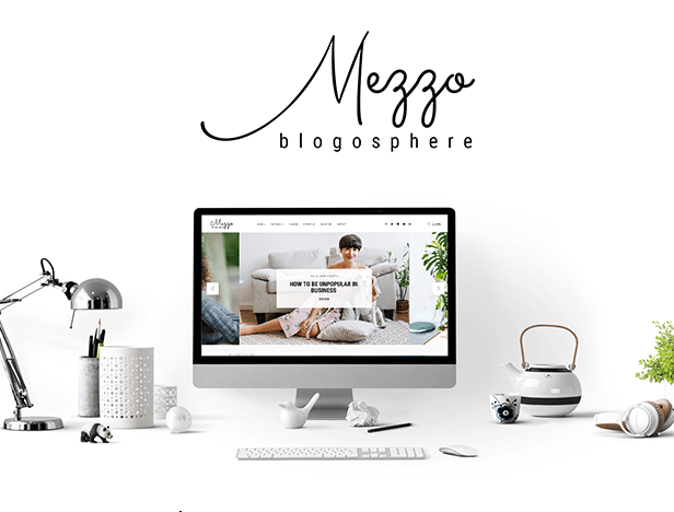 Mezzo WordPress Theme