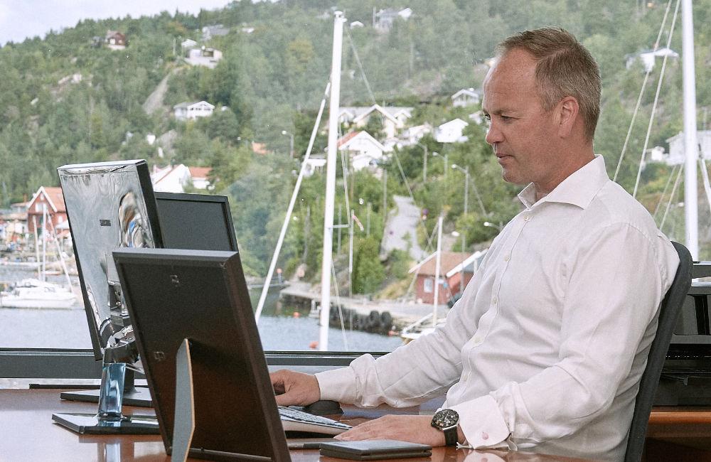Portrett Morten Fischer-Hauge