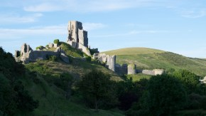 Corfe Castle Ruine