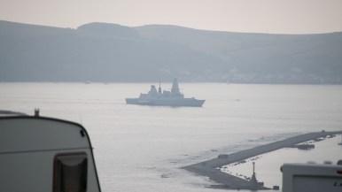 Plymouth Kriegsschiff