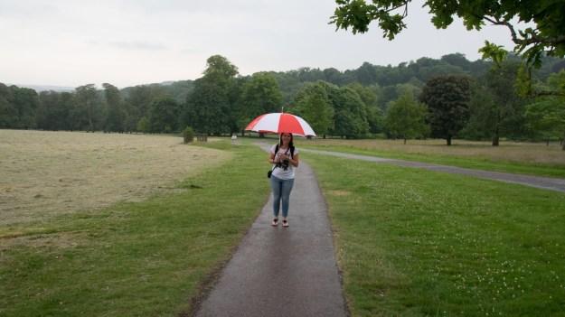 typisch englisches Wetter