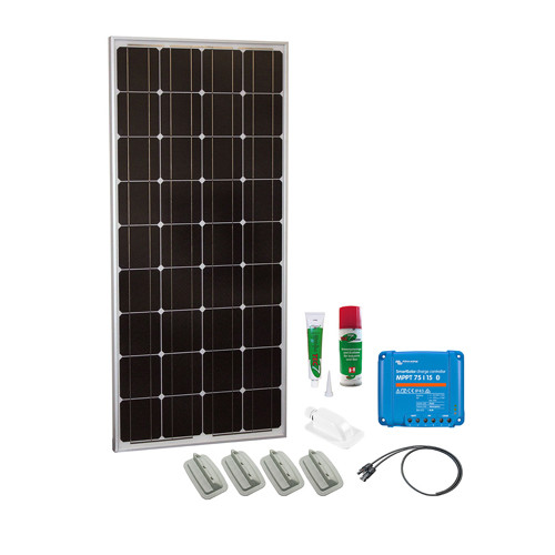 Caravan Kit Base Camp Easy MPPT Smart Solar 100Wp 2