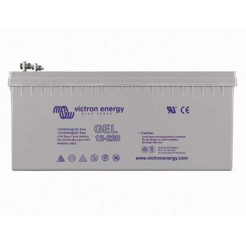 Victron Gel Deep Cycle 12V 220Ah 5