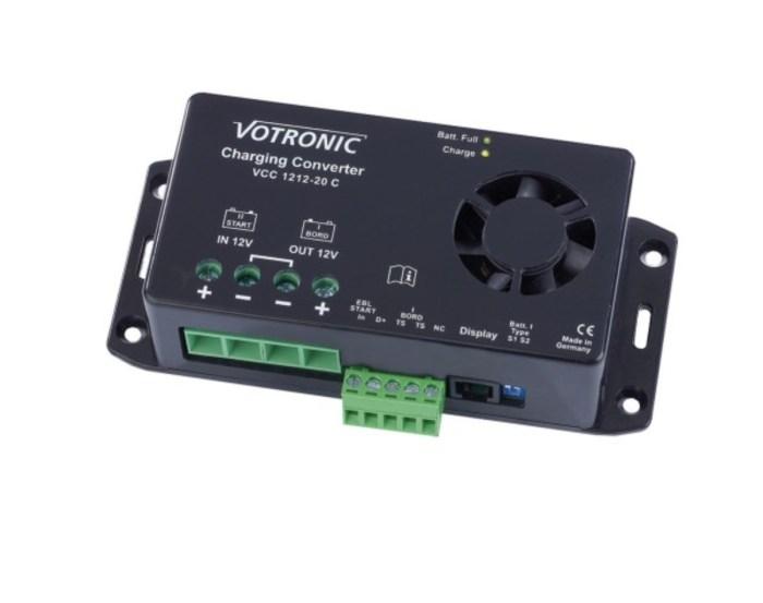Votronic Ladebooster 12V/12V - 20A 1
