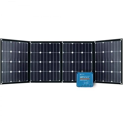 Faltmodul 4x40Wp mit MPPT Solarladeregler 6