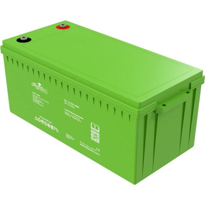 Offgridtec Gelbatterie 12V 200Ah 1