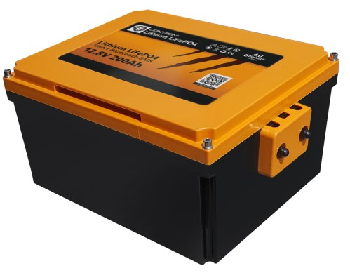 Liontron LiFePO4 Smart Wohnmobil Untersitz Batterie 12.8V 200Ah 10