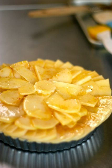 キッチンスタジオ◆横浜ミサリングファクトリー-りんごのタルト1