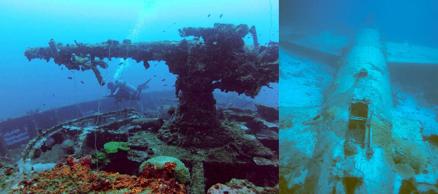 Truk Lagoon Biggest Graveyard Of Ships