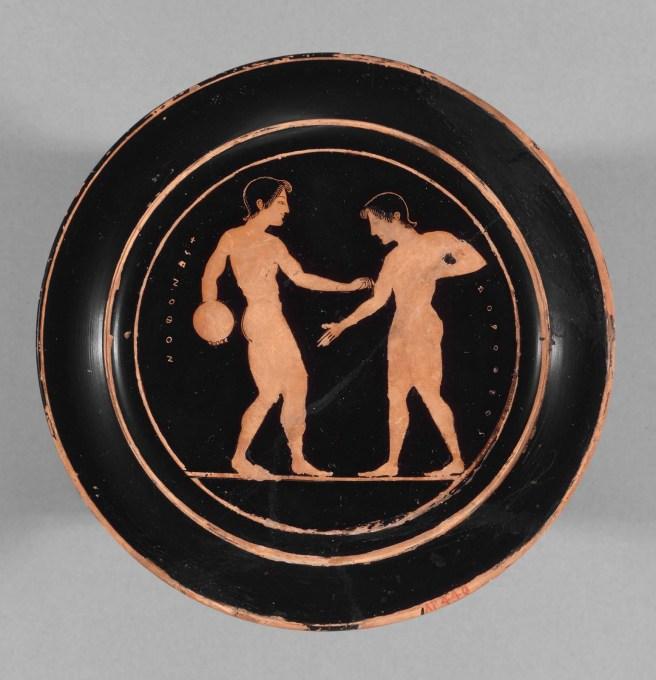 Image result for ancient greek vase beautiful man