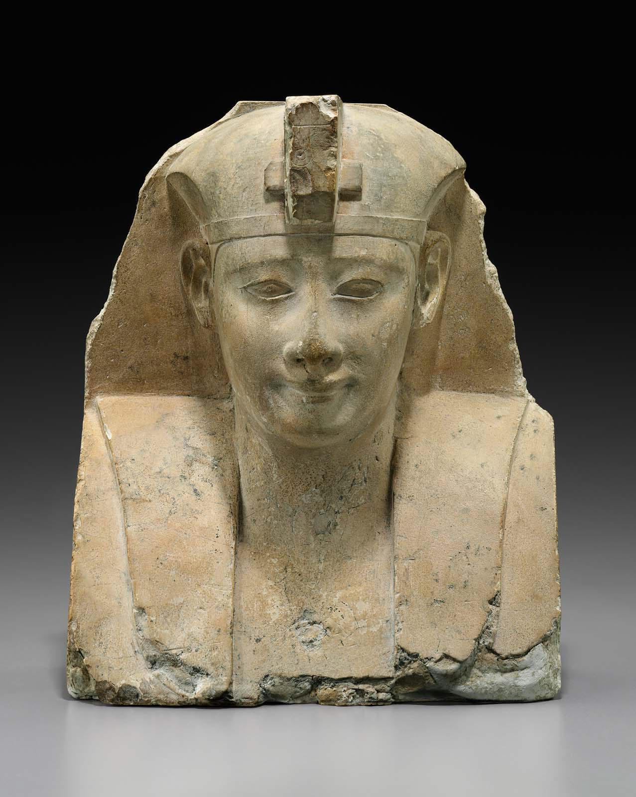 Bust Of A Pharaoh