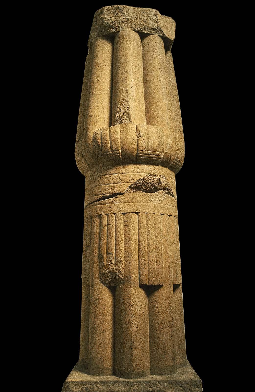 Papyrus Bundle Column