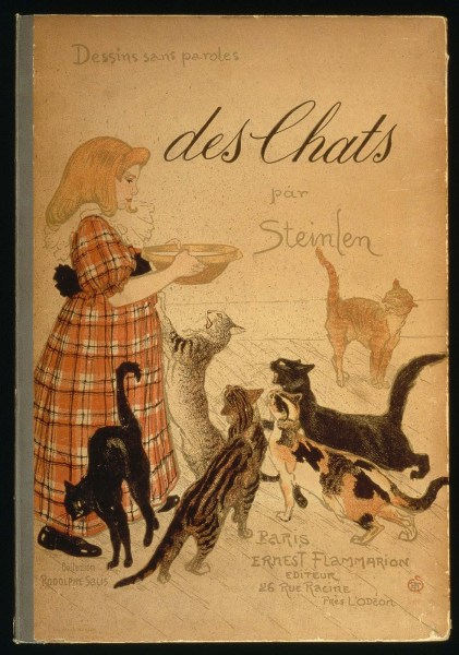 Illustrated Books   Museum of Fine Arts  Boston Des Chats  Images Sans Paroles  Some Cats  Pictures Without Words