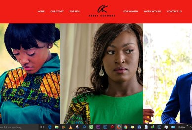 Abbey Kotoure an African Fashion website of its kind