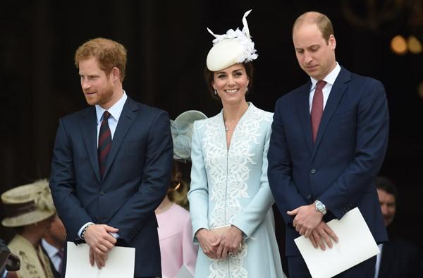 Família real inglesa celebra 90 anos de Elizabeth II (Foto: WPA Pool / Getty Images)