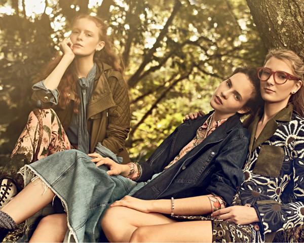O jeans é ótimo aliado dos vestidos florais (Foto: Gustavo Zylbersztajn (SD MGMT) / Edição de moda: Larissa Lucchese)