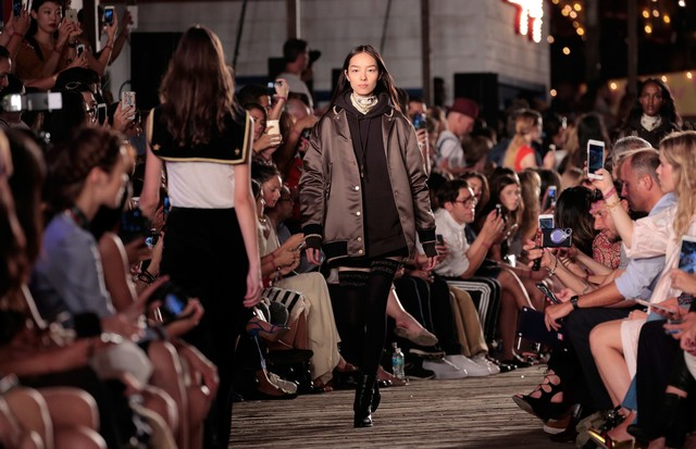 Tommy Hilfiger, Nova York, Inverno 2016 (Foto: Getty Images)
