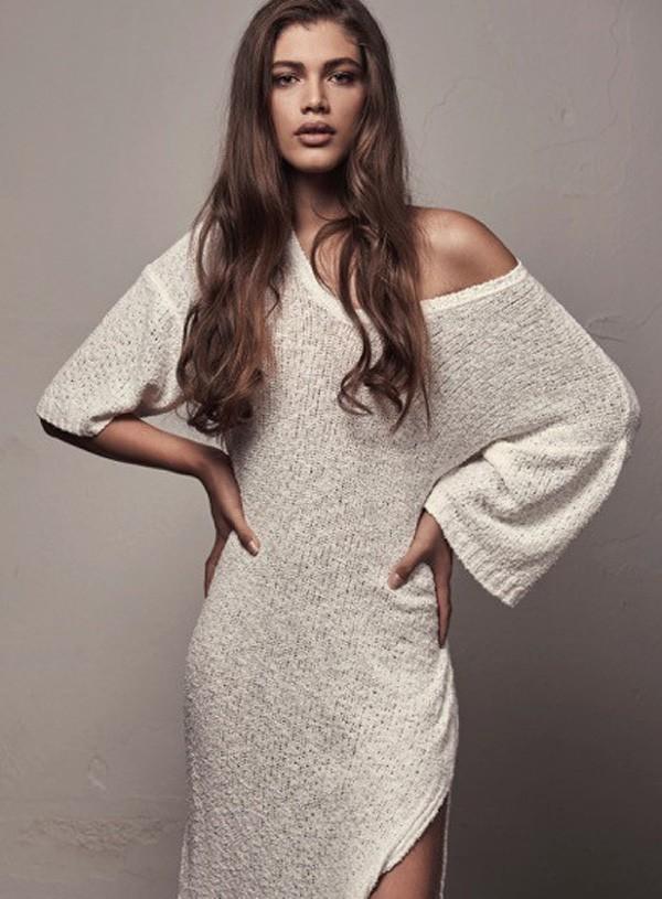 Seria maravilhoso se esse sonho se tornasse realidade, diz Valentina sobre ser angel da Victoria's Secret (Foto: Gabriel de Moura)